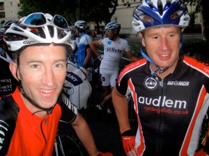 Rob and Philip at the start